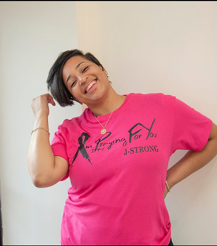 J-Strong IPFY Breast Cancer T-Shirt