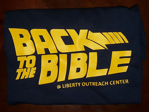 Back to the Bible T-Shirt (Adult)