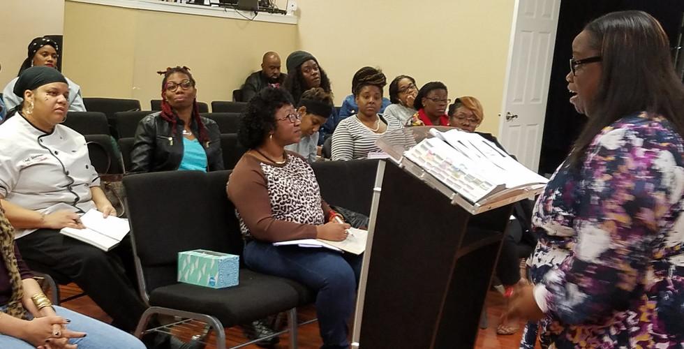 Liberty Outreach Center Bible Study