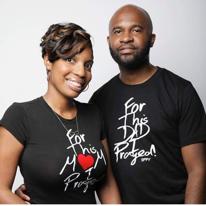 For This Mom & Dad I Prayed Tee