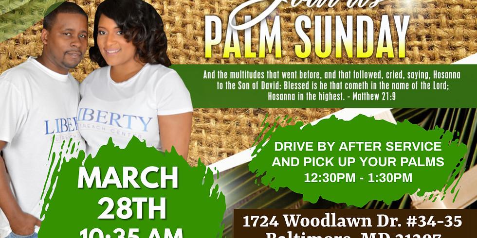 3/28/21 Palm Sunday Service