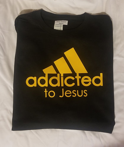 "Steelers Themed ""Addicted to Jesus""Shirt"