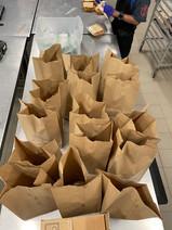 Sandwich, Chobani yogurt, chips, & sugar free sparkling lemonade for WICAP Youth Program