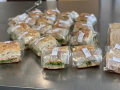 Turkey Cheddar Sandwiches