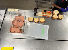 Sandwiches for WICAP Youth Program