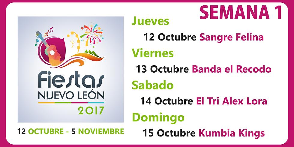 Fiestas Nuevo León 2017