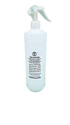 Sanitizante Liquido Antibacterial Spray Germicida 1 Litro INCLUYE ATOMIZADOR