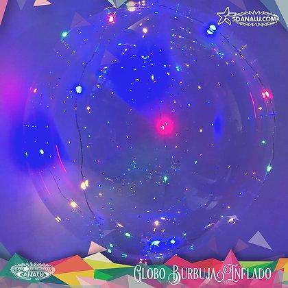 Globo con tira de led  30 foquitos de 3 metros Precio Desinflado