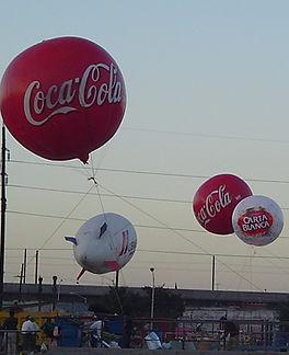Foto de escape de globos