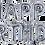 Thumbnail: Set de Globos HAPPY BIRTHDAY 13 letras 16' c/u