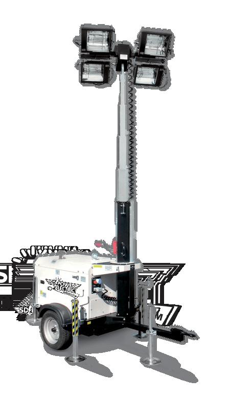 torre generadora de iluminacion en renta
