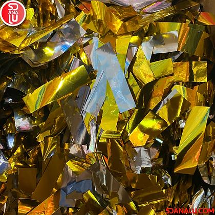 Bolsa dorado metalizado SD-Fetti para máquina lanza confetti