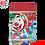 Thumbnail: Bola Globo Marble Agata Multicolor c/100