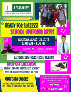 Uniform Drive flyer