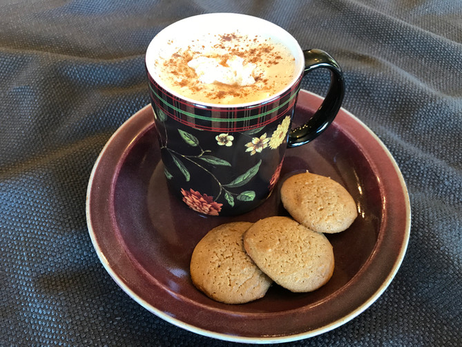 Caramel Pumpkin Spice Lattes