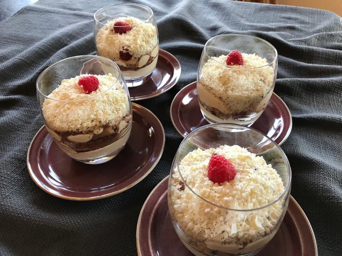 Baileys Tiramisu Trifles