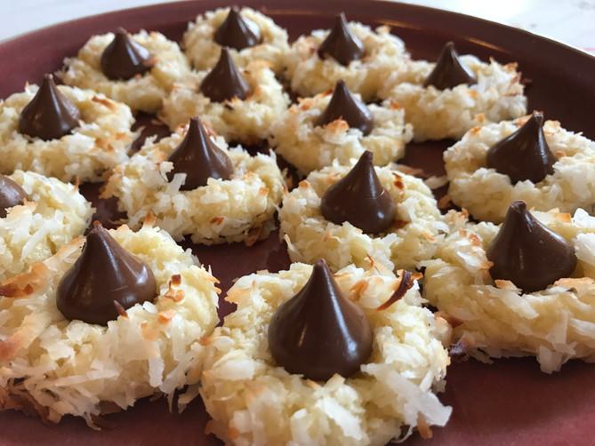 Kiss the Macaroon Cookies