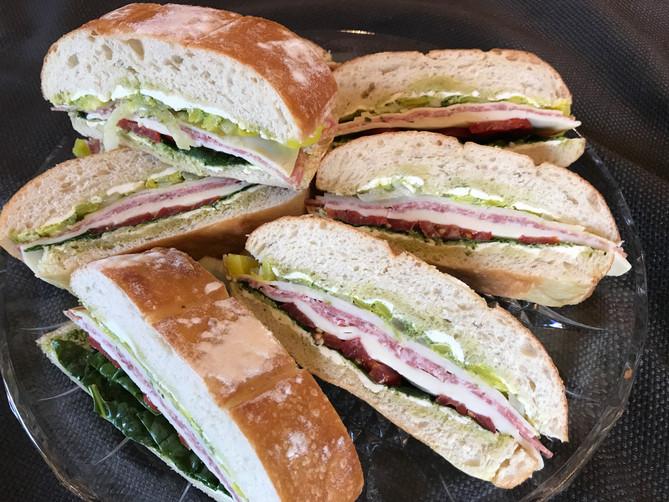 Make-Ahead Deli Sandwiches