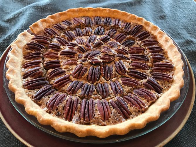 October's Perfect Pecan Pie