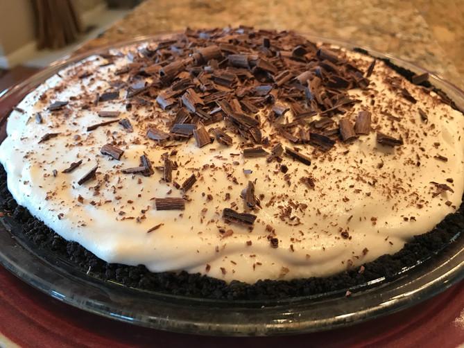 March's Irish Cream Pie