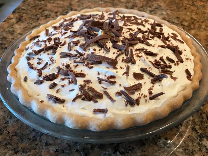 February's Chocolate Cream Pie