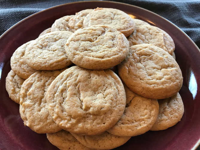 Spiced Maple Cookies