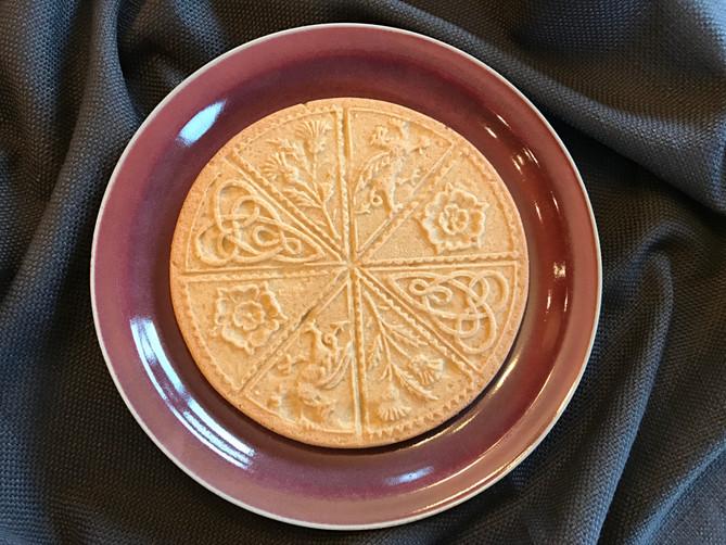 Irish Cream Shortbread