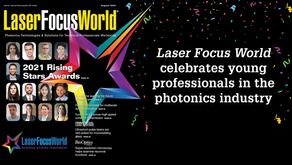 Laser Focus World 2021 Rising Stars Awards: Ben Szutor