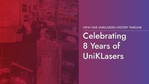 Celebrating 8 Years of UniKLasers
