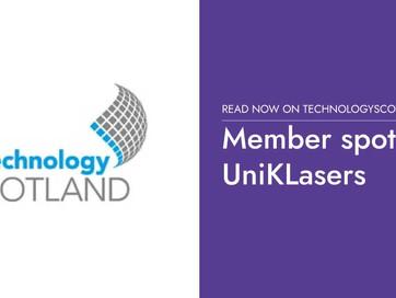 Technology Scotland Member Spotlight | UniKLasers