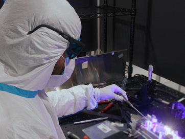 Introducing the world's first DPSS CW UV laser system operating with single frequency at 349 nm