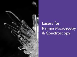 Lasers for Raman Microscopy