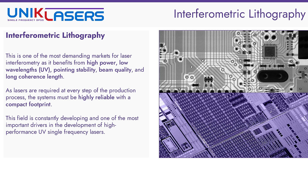Introduction to interferometric lithography for semiconductor manufacturing and inspection