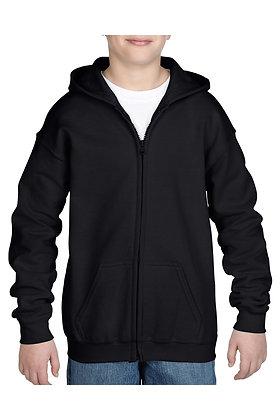 WDF Youth Full Zip Hoody #18600B