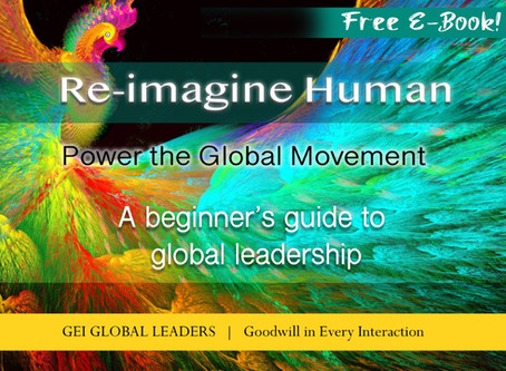 """Our Free Ebook: """"Re-Imagine Human"""" Helps You Evolve into a New Style of Leadership"""