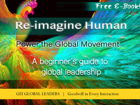 "Our Free Ebook: ""Re-Imagine Human"" Helps You Evolve into a New Style of Leadership"