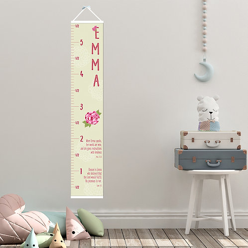 Prettier in Pink Growth Chart