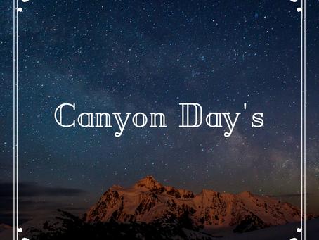 Canyon Days