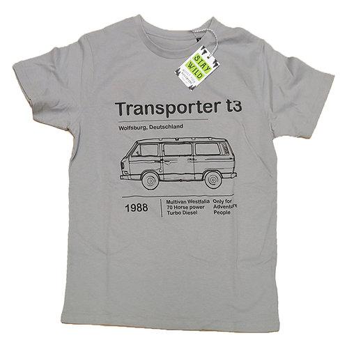 T-shirt Stay Wild Transporter