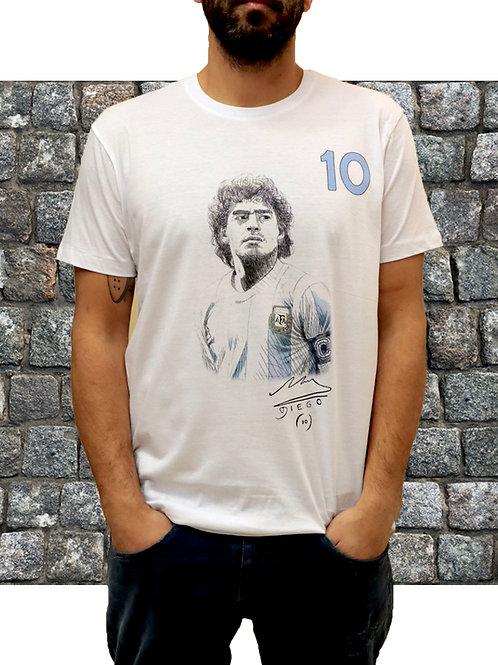T-shirt Maradona