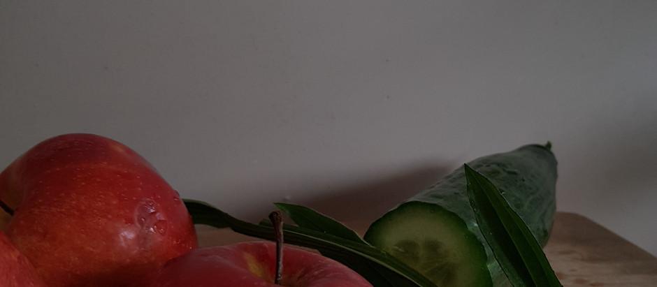 Detoxify your body oder check dir deinen Apfel
