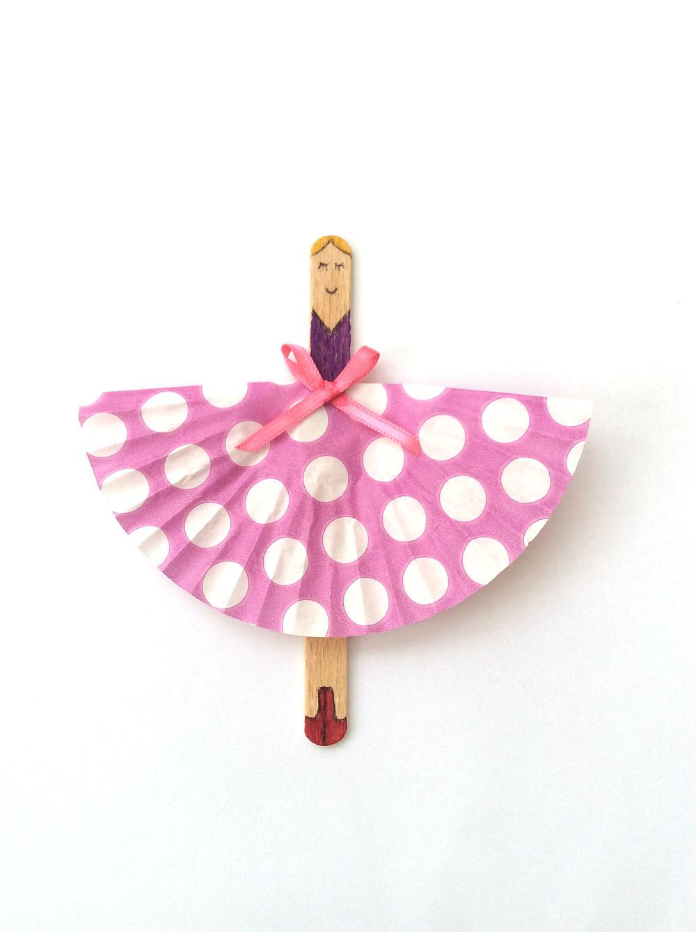 Lollipop ballerina doll