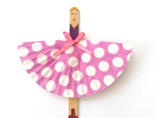 Boredom buster #1: Lollipop ballerinas
