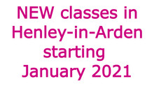 Dance classes in Henley-in-Arden starting January 2021