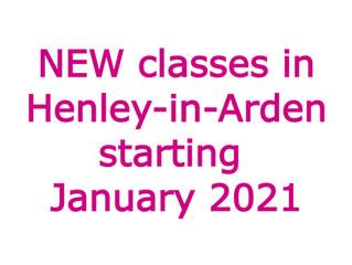 Dance classes in Henley-in-Arden starting January 2021