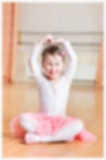Ballet classes for children aged 3 and up