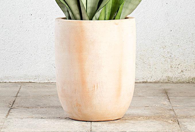 vaso WASH alto terracota
