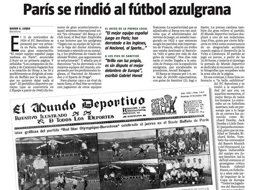 1926: París descobreix el Barça