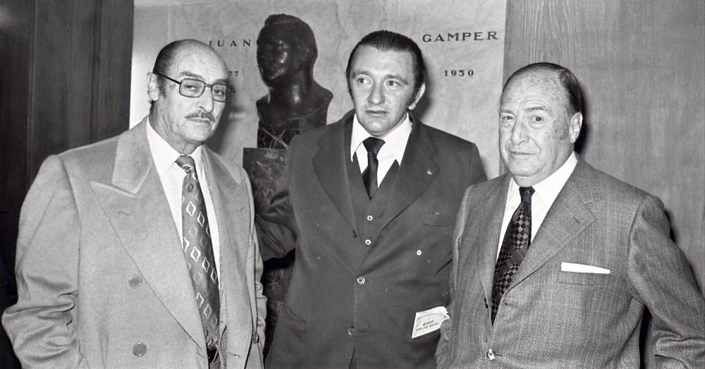 Enric Llaudet, Agustí Montal jr. i Narcís de Carreras