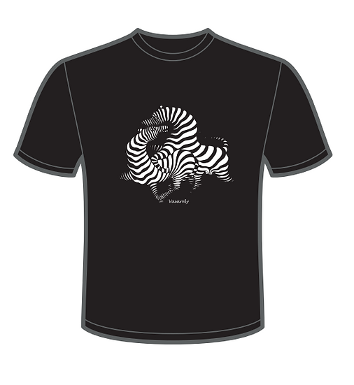 T-Shirt Zèbres - Femme